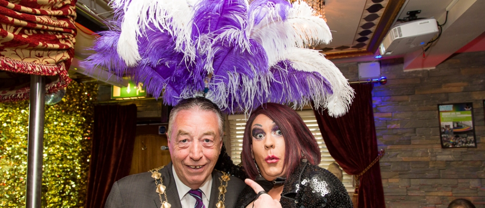 Even the mayor is getting in on the fun. Photo by John McDonnell