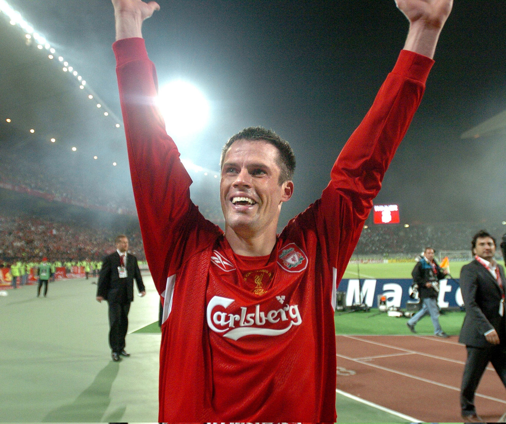 PIC BY COLIN LANE CHAMPIONS LEAGUE FINAL ISTANBUL....&carra