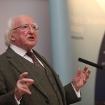 Michael D Higgins gives lecture to mark launch of ILAS Centre at NUI Galway