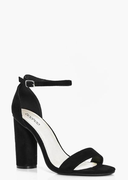 Block two part heels, Boohoo, €40