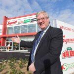 'King of Ireland' Pat McDonagh visits NUI Galway