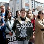 #IBelieveHer: NUI Galway SU attend rally in solidarity with rape and sexual assault victims