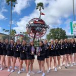 NUIG cheerleaders win gold medals in University World Championships
