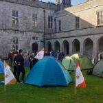 Will students protest NUI Galway's recent actions once restrictions are lifted?