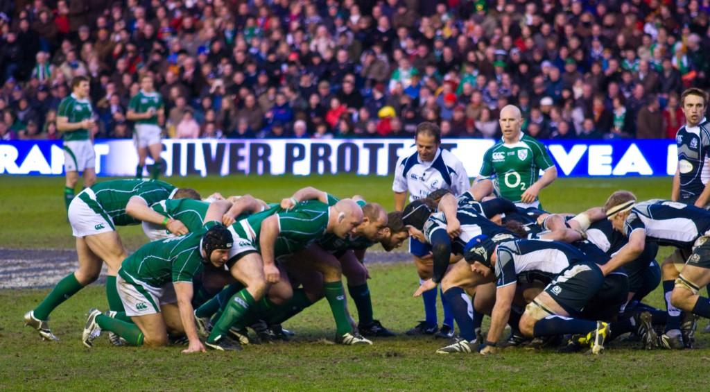 Ireland vs. Scotland back in the 2009 Six Nations. Ireland won that match.