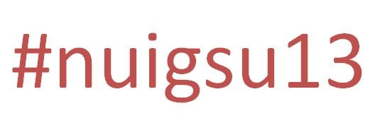 Don't forget to follow @sin_news or the #nuigsu13 tag on Twitter