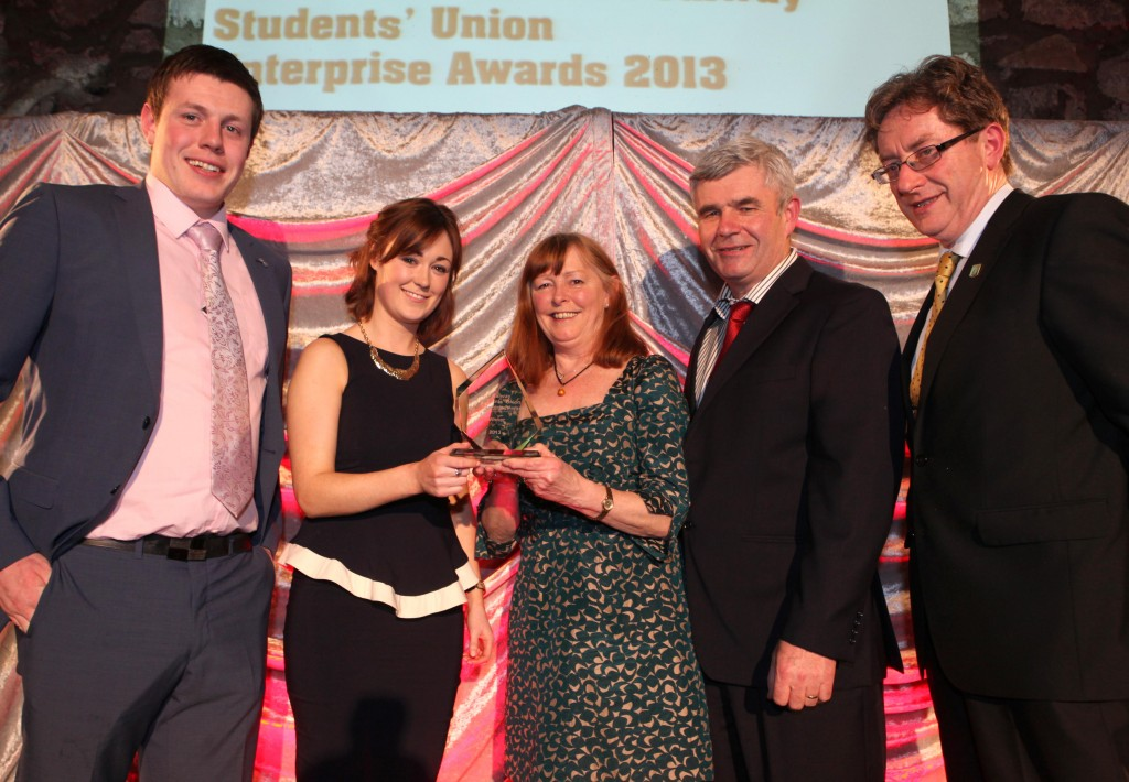 NUI Galway Students Union Enterprise Awards 2013. Photograph by Aengus McMahon